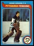 1979 Topps #94  Denis Herron  Front Thumbnail