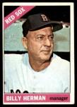 1966 Topps #37  Billy Herman  Front Thumbnail