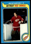1979 Topps #122  Jim Rutherford  Front Thumbnail