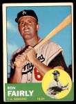 1963 Topps #105 WHI Ron Fairly  Front Thumbnail
