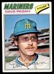 1977 Topps #508  Dave Pagan  Front Thumbnail