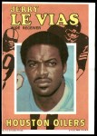 1971 Topps Posters #9  Jerry LeVias  Front Thumbnail