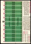 1971 Topps Posters #2  Andy Russell  Back Thumbnail
