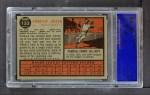 1962 Topps #153 GRN Pumpsie Green  Back Thumbnail