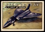 1952 Topps Wings #46   XF4D Skyray Front Thumbnail