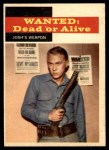 1958 Topps TV Westerns #22   Josh's Weapon  Front Thumbnail