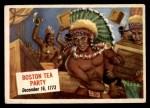 1954 Topps Scoop #28   Boston Tea Party  Front Thumbnail