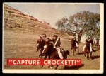 1956 Topps Davy Crockett Green Back #49   Capture Crockett Front Thumbnail