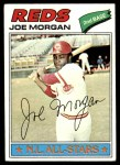 1977 Topps #100  Joe Morgan  Front Thumbnail