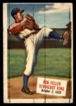 1954 Topps Scoop #27   -  Bob Feller Bob Feller Strikeout King Front Thumbnail