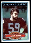 1980 Topps #10  Jack Ham  Front Thumbnail