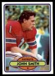 1980 Topps #291  John Smith  Front Thumbnail