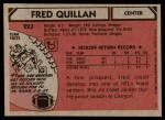 1980 Topps #223  Fred Quillan  Back Thumbnail