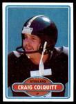 1980 Topps #416  Craig Colquitt  Front Thumbnail