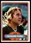 1980 Topps #405  Richard Todd  Front Thumbnail