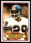 1980 Topps #521  Bernard Jackson  Front Thumbnail