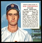 1953 Red Man #19 AL x Bob Porterfield  Front Thumbnail