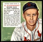 1953 Red Man #12 NL x Red Schoendienst  Front Thumbnail