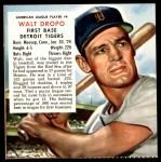 1953 Red Man #4 AL x Walt Dropo  Front Thumbnail