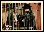 1958 Topps Zorro #17   You Shall Be Free Front Thumbnail
