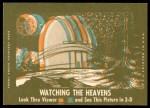 1963 Topps Astronauts 3D #53   -  Wally Schirra Astronaut Walter Schirra Back Thumbnail