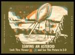 1963 Topps Astronauts 3D #29   Grissom Blasts Off Back Thumbnail