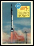 1963 Topps Astronauts 3D #29   Grissom Blasts Off Front Thumbnail