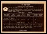 1967 Topps #91  Jim Neilson  Back Thumbnail