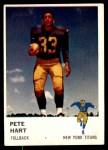 1961 Fleer #212  Pete Hart  Front Thumbnail