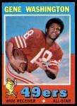 1971 Topps #165  Gene Washington  Front Thumbnail