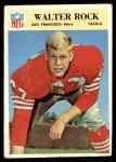 1966 Philadelphia #180  Walter Rock  Front Thumbnail