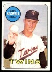 1969 Topps #459  Dave Boswell  Front Thumbnail