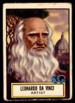 1952 Topps Look 'N See #105  Leonardo Da Vinci  Front Thumbnail