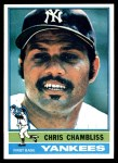 1976 Topps #65  Chris Chambliss  Front Thumbnail