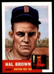1953 Topps Archives #184  Hal Brown  Front Thumbnail