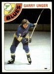 1978 Topps #110  Garry Unger  Front Thumbnail