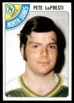 1978 Topps #230  Pete Lopresti  Front Thumbnail