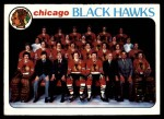 1978 Topps #195   Black Hawks Team Checklist Front Thumbnail