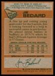 1978 Topps #243  Jim Bedard  Back Thumbnail