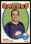 1971 O-Pee-Chee #36  Roger Crozier  Front Thumbnail