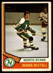 1974 O-Pee-Chee NHL #115  Dennis Hextall  Front Thumbnail
