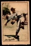 1952 Berk Ross  Allie Reynolds  Front Thumbnail