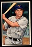 1952 Bowman #77  Eddie Robinson  Front Thumbnail