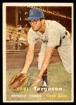 1957 Topps #357  Earl Torgeson  Front Thumbnail