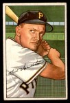 1952 Bowman #119  Bill Howerton  Front Thumbnail