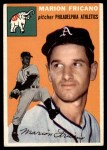 1954 Topps #124  Marion Fricano  Front Thumbnail