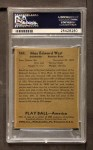 1939 Play Ball #149  Max West  Back Thumbnail