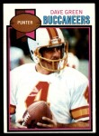 1979 Topps #279  Dave Green  Front Thumbnail