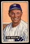 1951 Bowman #219  Gene Woodling  Front Thumbnail