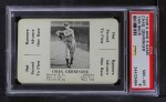 1936 S&S Game  Charlie Gehringer  Front Thumbnail